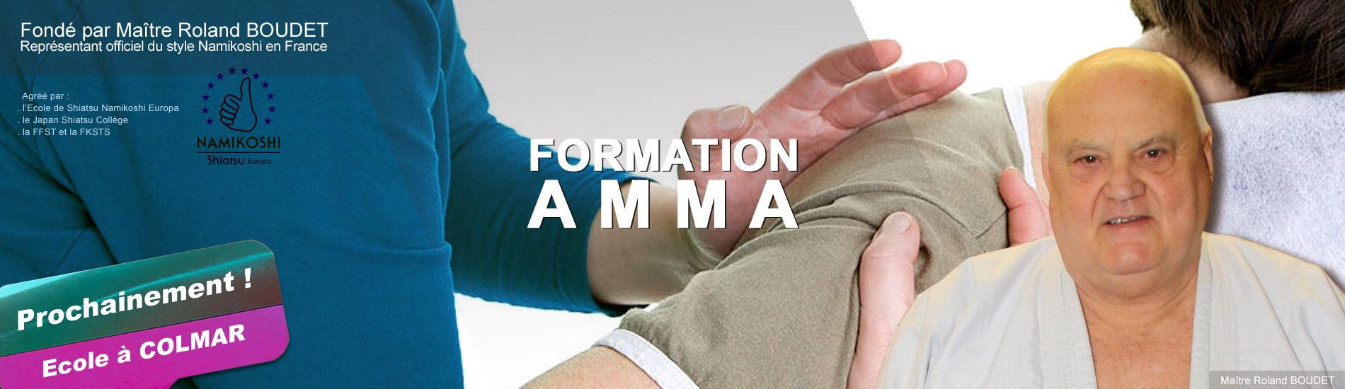 FORMATION</br>AMMA