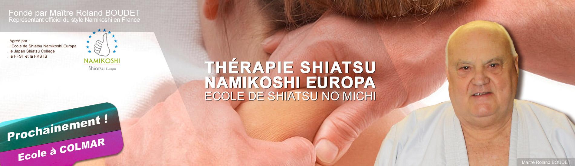 Thérapie Shiatsu</br><style=font-size:xx-small>Namikoshi Europa</style>