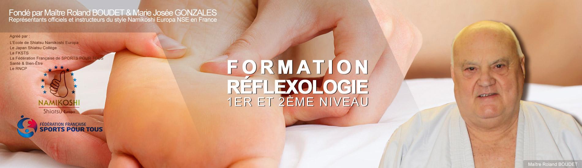 FORMATION</br>RÉFLEXOLOGIE